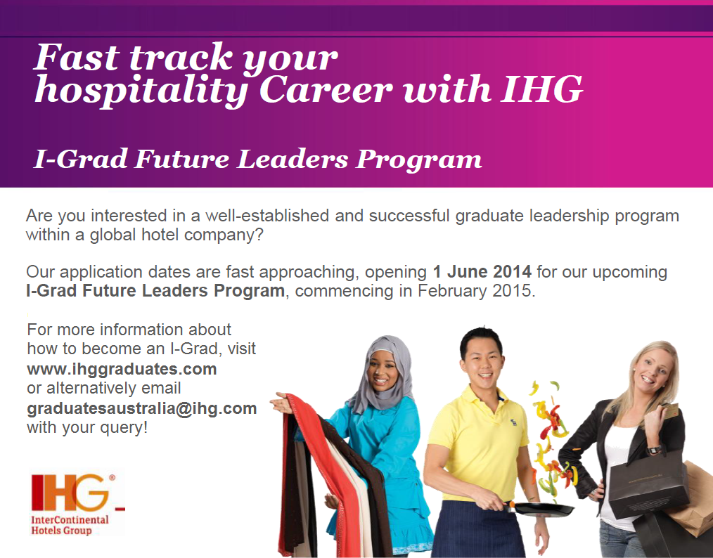 IHG's I-Grad Future Leaders Program